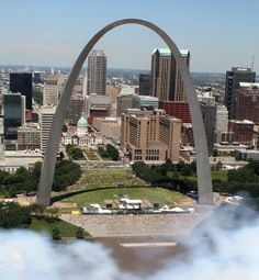 The St. Louis skyline in an August 2010 file photo. Christian Gooden, cgooden@post-dispatch.com