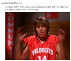 hahha High School Musical.... poor Zac, he will never unlive those 3 movies