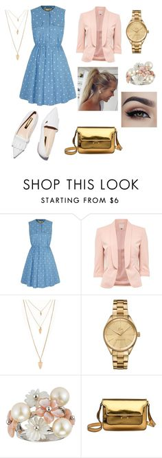 """""""Untitled #16"""" by scorpiofirelfy ❤ liked on Polyvore featuring Yumi, Rupert Sanderson, Forever 21, Lacoste and Marni"""