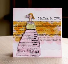 Lesley Langdon Creative: Christy Tomlinson Stamps!