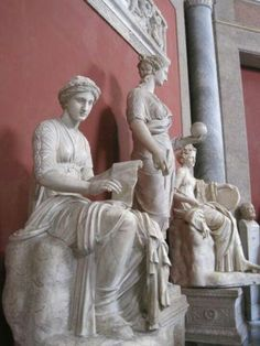 Statues of The Muses in the Vatican