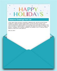 Verizon Sent A Thoughtful And Timely Broadcast Email Reminding - Free holiday email templates