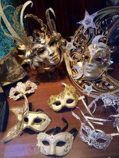 Las Mascharas - Venetian masks