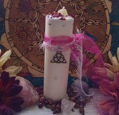 Goddess Branwen Soy Wax Pillar