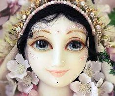 .Lotus face of Srimati Radharani.