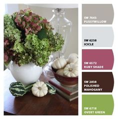 These Are NOT Your Typical Autumnal Color Schemes