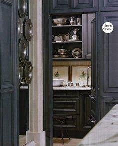 perfect walkin pantry | Secret Door to Pantry or Butlers Pantry