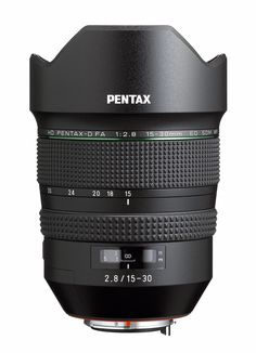 Pentax D FA F2.8ED SDM WR 15-30mm f/2.8 Ultra-Wide Angle Zoom Lens for Pentax K