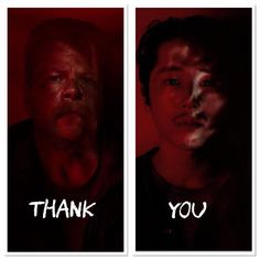 "Thank you, Abraham & Glenn ~ S7 E1 ""The Day Will Come When You Won't Be"""