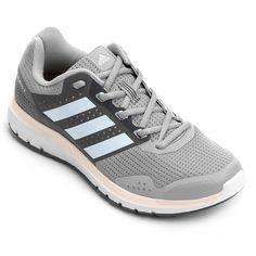 7588e95acd Tênis Adidas Duramo 7 Feminino - Cinza e Chumbo - Compre Agora