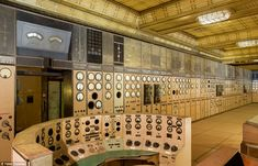 Control Room A of Battersea Power Station