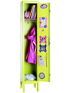Simple ways to make your locker the best. You could use household items such as cut  up scarves, or even cover some things in colorful duct tape to spruce things up a bit.