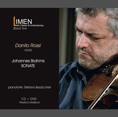 """CD+DVD Limen music """"Brahms - Sonate"""" Danilo Rossi, viola - Stefano Bezziccheri, piano"""