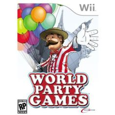 World Party Games  Nintendo Wii