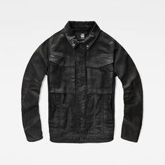 G-Star RAW | Men | Jackets & Blazers | Vodan 3d Slim Jacket , 3d Dark Aged