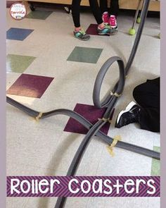 A STEM class favorite project! Build a roller coaster! Includes teacher directions, hints, photos, and more!