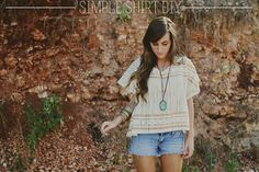 DIY Tutorial DIY SHIRT / DIY Simple Shirt - Bead&Cord