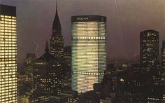 The Pan Am Building was created by Walter Gropius and Pietro Bellusche in c.1963. It is now called the MetLife building (Skyscraper) located in New York City, New York.