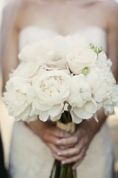 Beautiful and elegant bouquet (I might add a splash of coral)