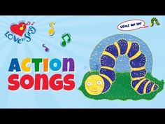Fuzzy Wuzzy Caterpillar Caterpillar | Children Love to Sing Butterfly Songs Rhymes - YouTube