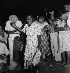 Coureira dançando tambor de crioula. Museu Afro-Digital do Maranhão