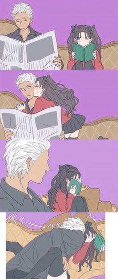Manga Couple Haha so cute ^^ Anime Amor, Anime W, Anime Kiss, Manga Love, Anime Love, Manga Romance, Couples Comics, Manga Couple, Cute Comics