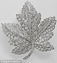 Queen Elizabeth's Canadian Maple Leaf Brooch was a present from George VI to his wife ahead of their 1939 tour of Canada. The Queen Mother treasured the brooch until her death in 2002, whereupon it...