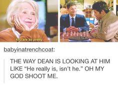 #supernatural #destel #cas #dean