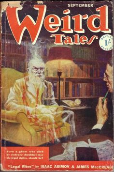 WT Sept. 1950 No 7 UK edition, has the same cover as Sept. 1950 US edition except the 1 shilling price is over-stamped where the US price was.