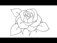 Have fun drawing from these 50 selected rose drawing tutorials. Each how to draw a rose tutorial has easy step by step instructions or a video tutorial. #drawing #tutorial #rose See more at https://easydrawingguides.com/how-to-draw-roses-50-best-tutorials/.