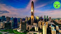 The Ping An Finance Center in Shenzhen, China is finally complete, and it has been ranked by the Council on Tall Buildings and Urban Habitat (CTBUH) as the world's fourth tallest building. Unusual Buildings, Amazing Buildings, Tianjin, Lower Manhattan, Dubai, Shanghai Tower, Future Buildings, Metal Facade, One World Trade Center