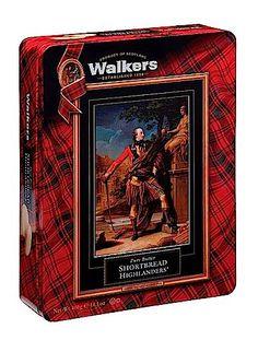Walkers Shortbread General Gordon Tin featuring Highlanders.