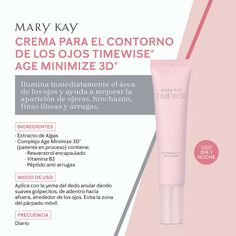 Imagenes Mary Kay, Mary Kay Ash, Mary Kay Cosmetics, Eye Cream, Serum, Skin Care, Eyes, 3d, Marketing