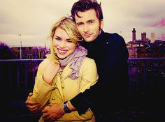 My opt, David Tennent and Billie Piper