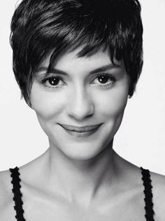 love this cut! Audrey Tautou