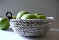 gk kreativ: DIY Körbchen aus Seil