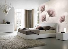 Items similar to Custom Listing The Peony Garden Wall Mural, Flowers Wallpaper, Nursery and room décor, Wall art on Etsy Master Bedroom Design, Modern Bedroom, Bedroom Wall, Bedroom Decor, Room Color Schemes, Room Colors, Living Room Designs, Living Room Decor, Kids Room Wall Art