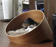 Indulge your four-legged friend with the instantly iconic Covo dog lounge. The Covo bed offers the ultimate in style and comfort for your dog, while the striking circular form has real wow factor for design-lovers. Small dogs love the enclosed form of th Puppy Obedience Training, Training Your Dog, Potty Training, Easiest Dogs To Train, Dog Furniture, Luxury Furniture, Pet Beds, Doggie Beds, Dog Houses