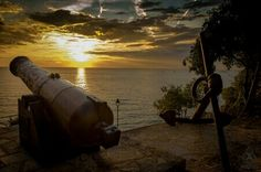 Silent Cannon Cannon, Celestial, Sunset, Outdoor, Pictures, Outdoors, Canon, Sunsets, Outdoor Games