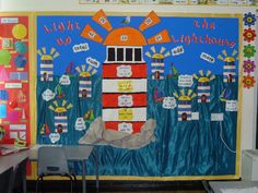 Lighthouse addition and subtraction classroom display photo - Photo gallery - SparkleBox