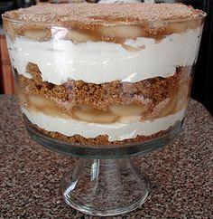 PB & Apple Layered Dessert - Easy and wonderful!