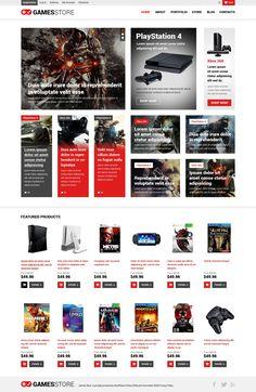 Games - WooCommerce Theme