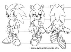 sonic the hedgehog coloring pages shadow   Cartoon ...