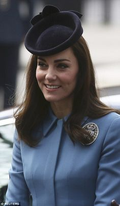 Kate Middleton marks the 75th anniversary of the RAF Air Cadets with Carol Vorderman | Daily Mail Online