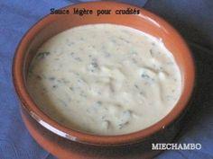 . Sauce légère pour salades et crudités . . . Préparation : 5 mn ...