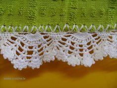 Barrinha de crochê 1 by Marcia Galti, via Flickr
