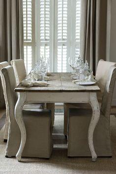 Rivièra Maison Driftwood Dining Table 180x90 Esstisch!