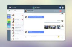 Scene: Social Media Desktop Application on Behance