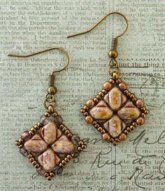 Linda's Crafty Inspirations: Nexus Earrings