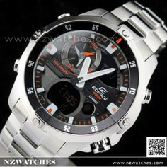 BUY Casio Edifice Moon data Thermometer Advanced Marine watch  EMA-100D-1A1V c8227ad14b